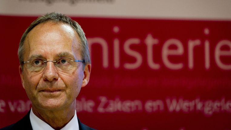 Minister Henk Kamp Beeld ANP