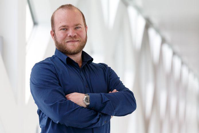 Peter Kerris, lijsttrekker van de PvdA Gelderland.