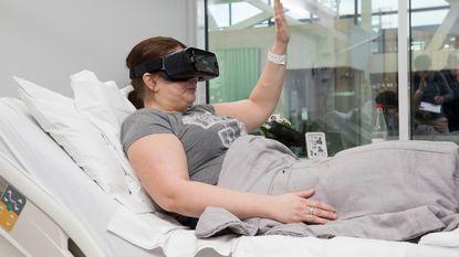 Ziekenhuis experimenteert met virtuele bril