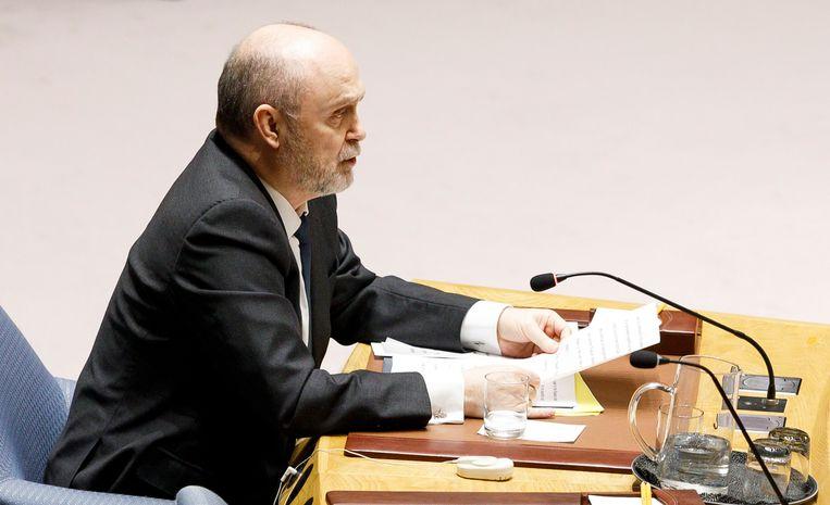 Feridun Hadi Sinirlioglu, de Turkse ambassadeur bij de VN.