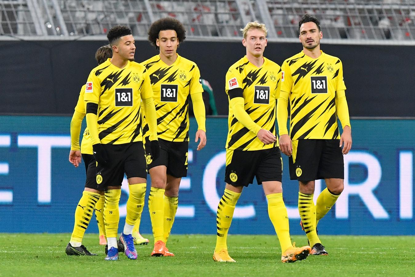 Borussia Dortmund druipt af.