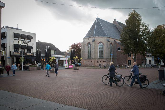 Het gebied rond De Plaskerk in Raalte.