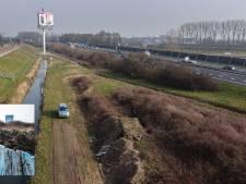 Politie doet geen verder onderzoek naar ingegraven container tussen A15 en Betuwelijn: 'Geen aanknopingspunten'
