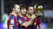 """Andrés Iniesta twijfelt er niet aan dat ex-ploegmaats Barça ooit mee zullen leiden: """"Xavi en ik als coaches? Dat zou kunnen werken"""""""