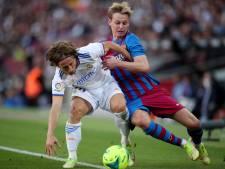 Frenkie de Jong voorlopig aan de kant bij Barcelona