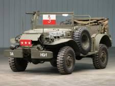 Vanuit deze generaals-auto werd Europa bevrijd en hij is nu te koop