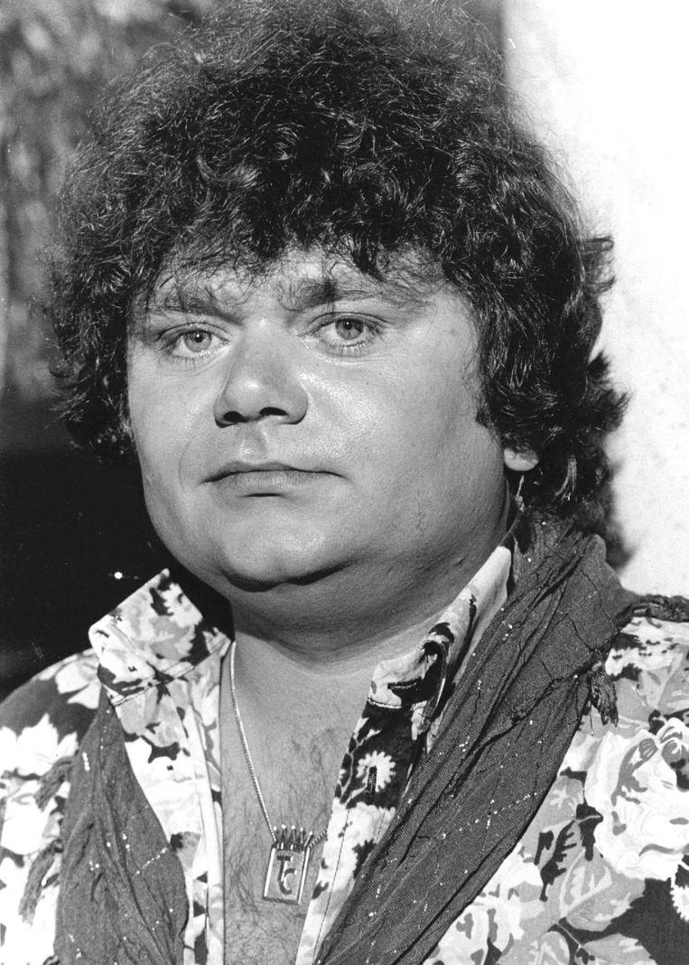 Hazes na een optreden in 1982.  Beeld ANP