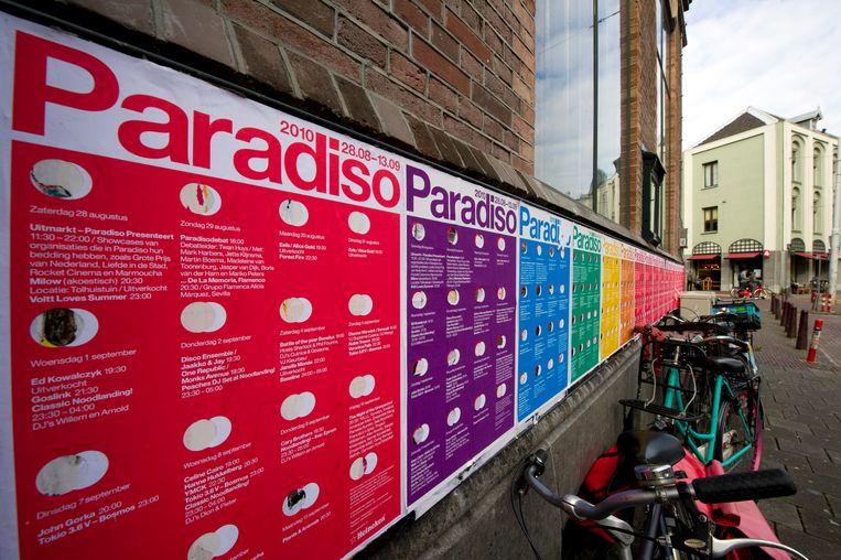Paradiso laat straks slechts vijf bezoekers toe. Beeld ANP XTRA