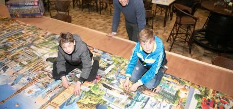 Monnikenwerk in 42.000 puzzelstukjes voor de lol en het goede doel
