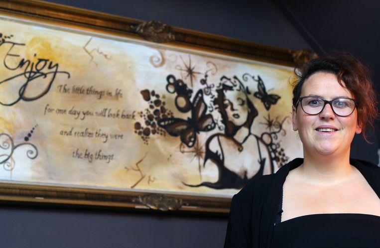 Carolien Michielsen opende begin januari haar eigen tattooshop in Herenthout.