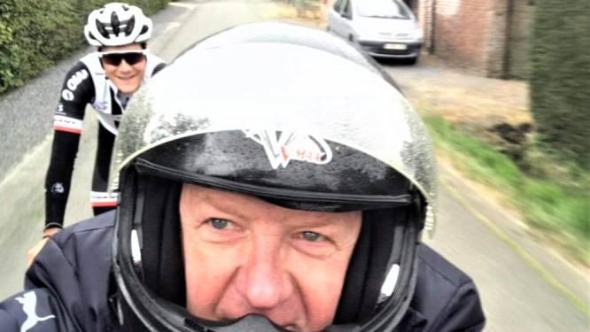 """Supporters van Ronsenaar Louis Vervaeke volgen de Giro op de voet. """"Het stapje terug en zijn huwelijk hebben hem rust gegeven"""""""