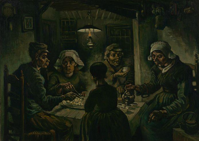 De Aardappeleters, april-mei 1885.