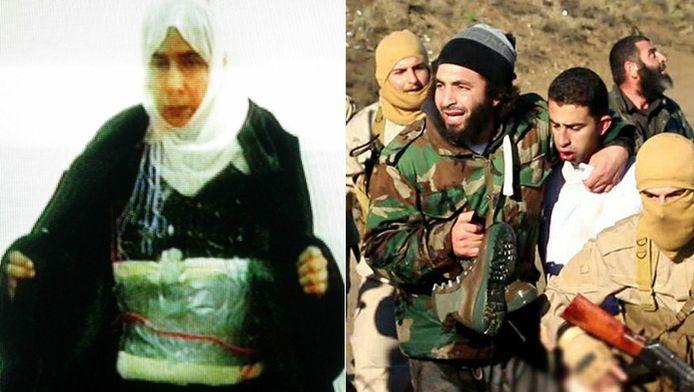 Sajida al-Rishawi en Muath al-Kasabeh