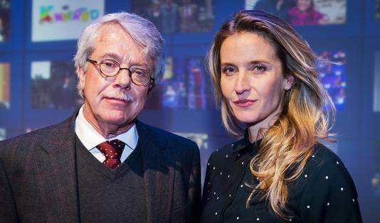 Tot voor kort een onafscheidelijk duo: Frank Visser en Jetske van den Elsen.
