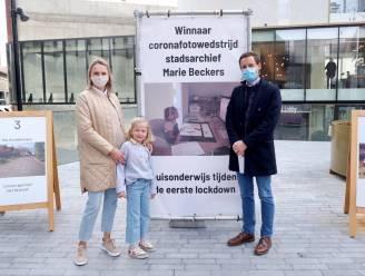7-jarige Elise wint fotowedstrijd Hasselts stadsarchief naar aanleiding van één jaar corona