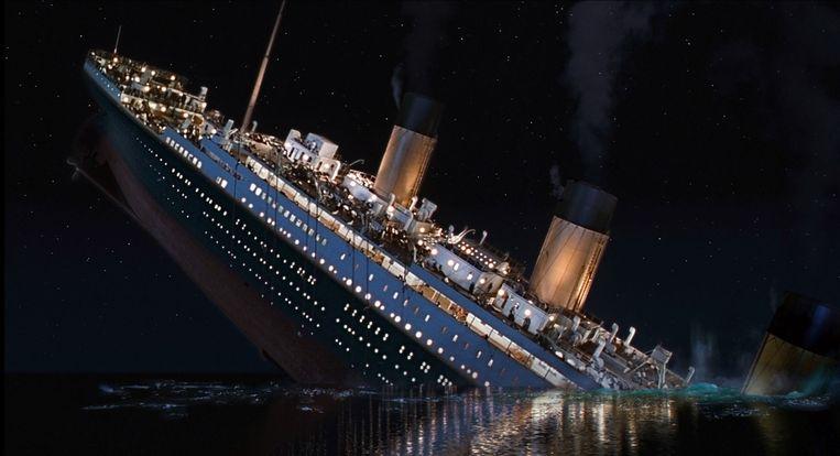 In Titanic van James Cameron komt hoogmoed voor de val. Beeld Alamy Stock Photo