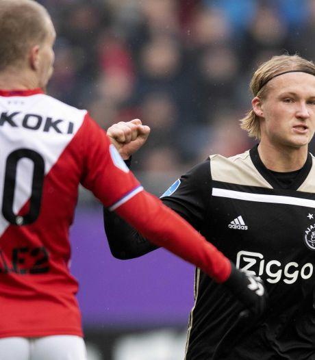 Ajax omzeilt lastige klip in Utrecht
