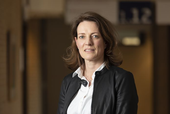 Hilde Dijstelbloem, voorzitter van de Raad van Bestuur van het ZGT.