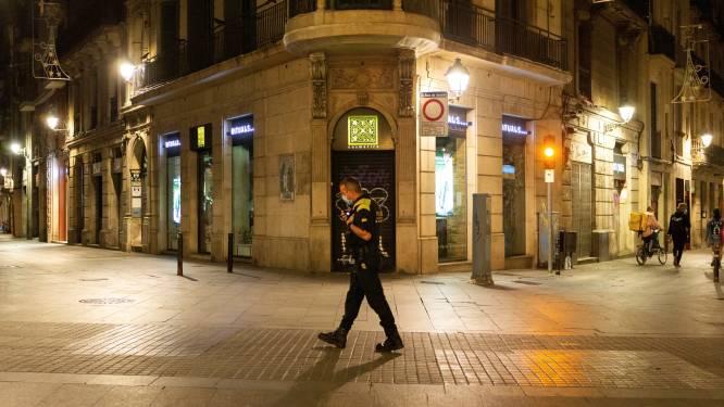 Avondklok in Catalonië opnieuw verlengd door te slechte coronacijfers