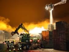 Grote brand domper op Westlandse jaarwisseling