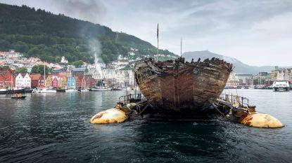 100 jaar nadat schip vertrok voor Noordpoolexpeditie is driemaster van poolreiziger terug in Noorwegen