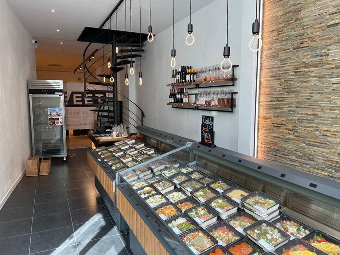 Het uitgebreide assortiment afhaalmaaltijden in Beet Boetiek.