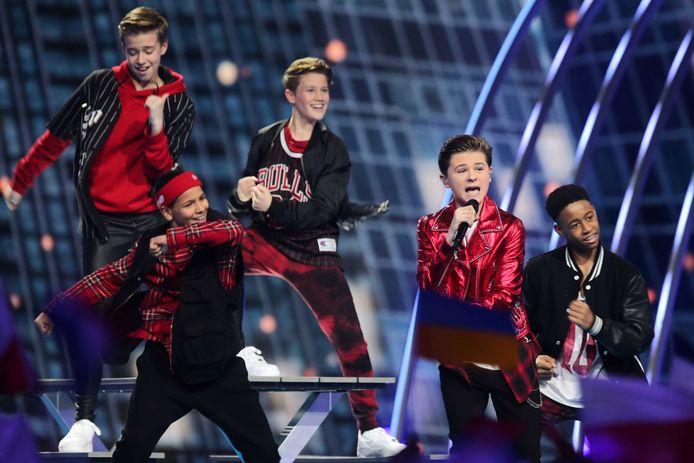 Matheu deed vorig jaar mee aan het Junior Songfestival voor Nederland.