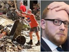 """Visite des souverains et ministres aux sinistrés: À Olne, """"ils auraient été mal accueillis"""" indique le bourgmestre"""