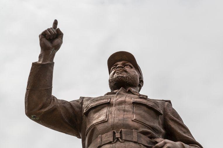 Samora Moisés Machel op het Onafhankelijkheidsplein in Maputo, Mozambique. Beeld © Zoonar/Dereje Belach