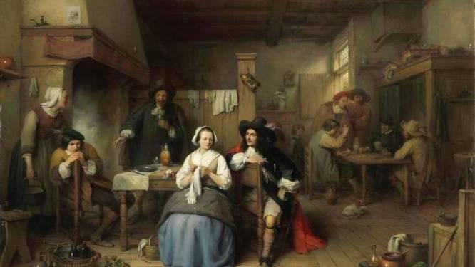 Pas gerestaureerd negentiende-eeuws schilderij te bewonderen bij Visit Geraardsbergen