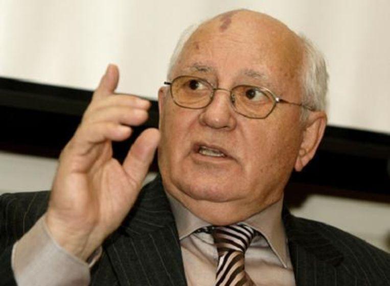 Ex-Sovjet-president Michail Gorbatsjov.