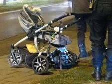 Vader met kinderwagen aangereden op zebrapad