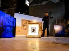Leegstaande etalages van oud V&D-pand zijn nu gevuld met kunstwerken