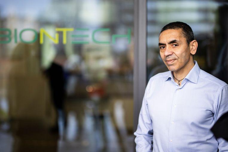 Ugur Sahin, de oprichter van het Duitse BioNTech. Beeld Photothek via Getty Images