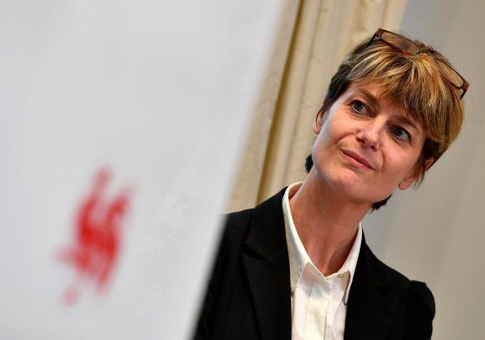 La ministre wallonne du Tourisme, Valérie De Bue