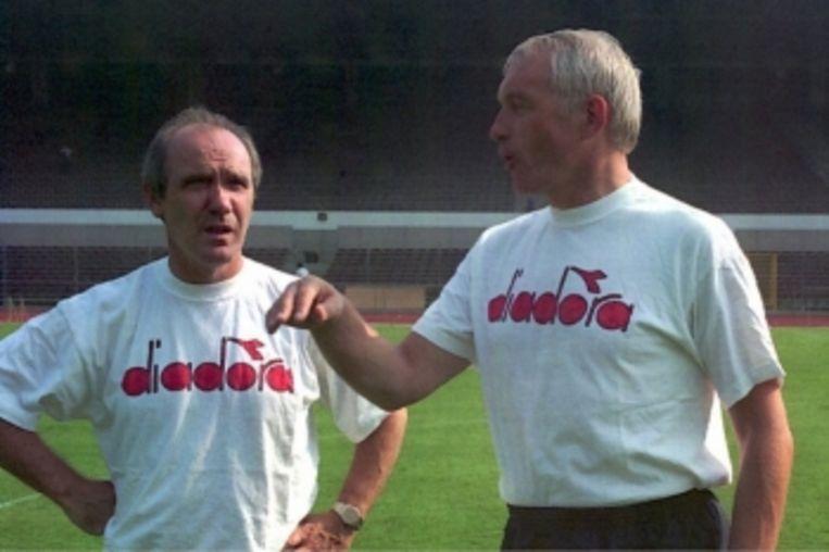Wilfried Van Moer: 'Paul opvolgen als bondscoach nadat hij was ontslagen, was de grootste fout van mijn carrière. Ik heb me er al honderd keer voor verontschuldigd.' Beeld Belga