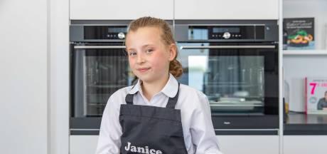 Keukenprinsesje Janice (10) maakt aspergetaart: 'Een eigen kookprogramma lijkt me wel wat'