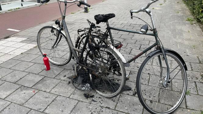 Meerdere fietsen in brand gestoken in Veldhoven