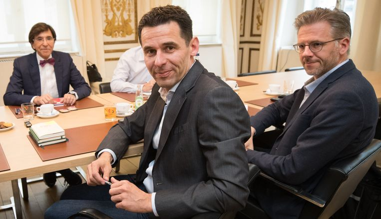 Ecolo-covoorzitter Jean-Marc Nollet. Beeld BELGA
