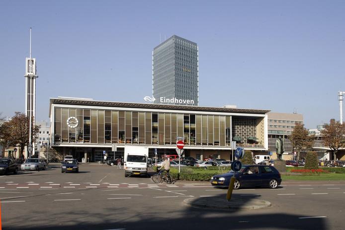 Het centraal station in Eindhoven.