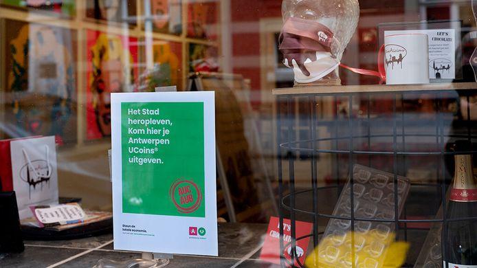 Met de virtuele Antwerpse UCoins kan je in 2000 lokale zaken betalen.