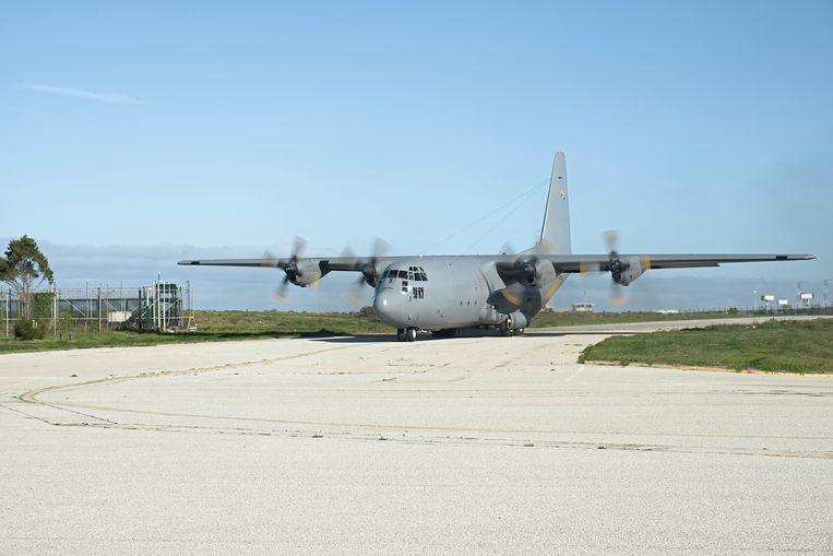 Illustratiefoto: een C-130. Beeld Hollandse Hoogte / AFP