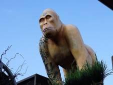 Londense politie onderzoekt gorillaroof hotel