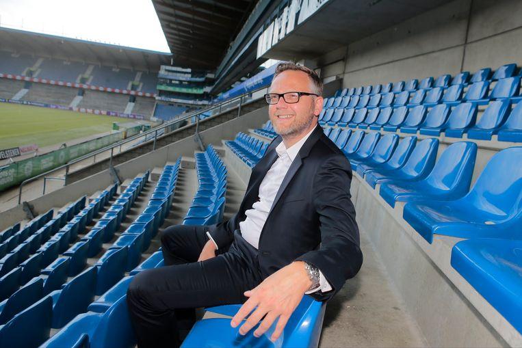 "Pro League-voorzitter Peter Croonen: ""KV Mechelen slaat geen homerun. De Europa League-groepsfase brengt toch al snel 5 à 6 miljoen euro op."" Beeld Photo News"