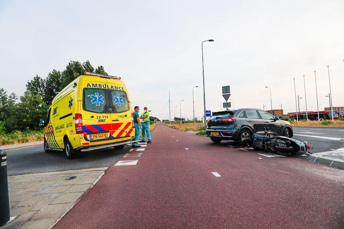Twee vrouwen raakten gewond bij het ongeval in Eindhoven.