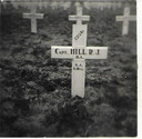 Het graf van Raymond Jesse Hill.