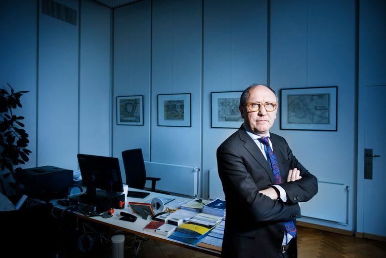 Johan Vande Lanotte, burgemeester van Oostende. Beeld Eric de Mildt