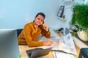 Jeroen van Wijk uit Bergen op Zoom van iNQ Events. Hij is die ene ondernemer die nu ook wat anders doet, ze zijn nu tijdelijk een klusbedrijf.
