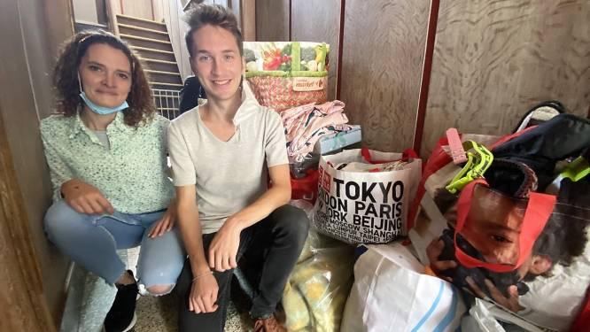 """Aline (33) en Jean-Philippe (20) houden inzameling voor door zondvloed getroffen Theux: """"We krijgen honderden berichten"""""""