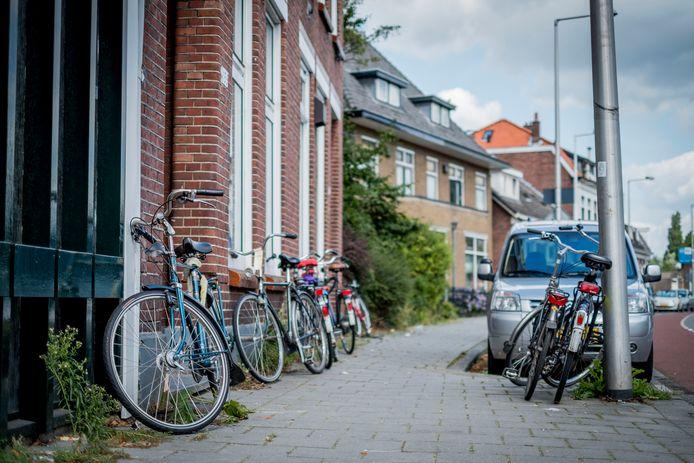 Een studentenhuis in Enschede.